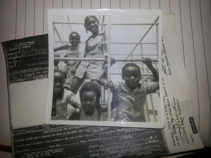 Us as Kids, San Fernando, Trinidad, 1976