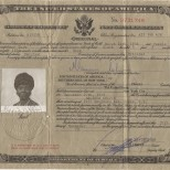 Certificate of Naturalization, December 27, 1972