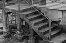 Brother Austin's House, Front Steps, 2003