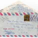 Envelope, Evelyn to Maureen, November 10, 1980 (1 of 1)