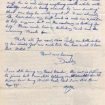 Letter, Daddy to Maureen, March 6, 1977 (2 of 2)
