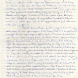 Letter, Evelyn to Maureen, November 7, 1980 (2 of 4)
