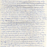 Letter, Evelyn to Maureen, November 7, 1980 (3 of 4)