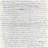 Letter, Evelyn to Maureen, November 7, 1980 (4 of 4)