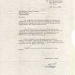Letter, NJ to Consul General (re Maureen), June 13, 1962