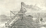 Excavator at Work at Tabemilla (Tavernilla), June 16, 1888, 665