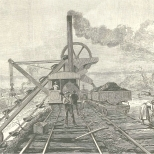 Excavator at Work at Tabemilla (Tavernilla), June 16, 1888, 665