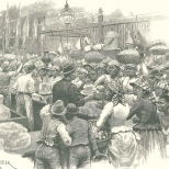 Ice-Stall in the Market, Georgetown, Demerera, April 7, 1888, 363.