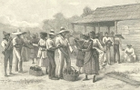 Labourers and Tally-woman Disputing After the Payment of Wages, June 23, 1888, 701