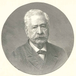 M. Ferdinand De Lesseps, Constructor of the Suez Canal, President of the Panama Canal Company, June 16, 1888, 665