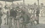 Paying Labourers on their Arrival at Tabemilla, June 23, 1888, 701