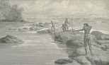 Shooting Sting-Rayfish on the Berbice River, June 23, 1888, 676