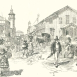 Street Scene in Georgetown, Demerera, April 7, 1888, 363