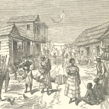Street Scene in the Village of Culebra, June 23, 1888, 697