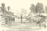 The Canal Near Mindi, Looking Towards Gatun, June 23, 1888, 697