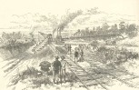 The Panama Ship Canal—Excavating, with Transporters of Earth, at Tabemilla, June 23, 1888, 700