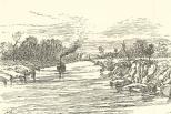 The Panama Ship Canal—View Near Buhio, June 23, 1888, 697