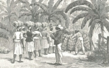 The West Indies—Collecting and Counting Bunches of Bananas on Jamaica, August 4, 1888, 140
