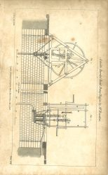 A Double Barrel Hand Pump Engine by M. Rowntree, British Encyclopedia, Vol 3, 1809