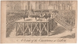 A View of the Executions at Lisbon (A Walker), Miscellaneous Correspondence, 1764