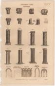 Architecture, London Encyclopedia, Vol. 2, Plate 8
