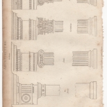 Architecture, Portable Encyclopaedia, 1826