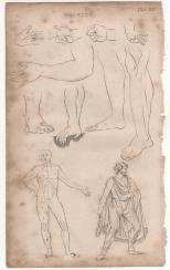 Drawing, Portable Encyclopaedia, 1826
