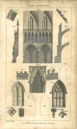 Gothic Architecture, British Encyclopedia, Vol 3, 1809