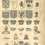 Heraldry, Plate 2, British Encyclopedia, Vol 3, 1809