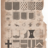 Heraldry, Portable Encyclopaedia, 1826 1