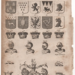 Heraldry, Portable Encyclopaedia, 1826