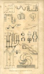 Hydraulics, British Encyclopedia, Vol 3, 1809