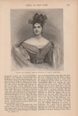 Madame Cinti Damoureau, The Century, Vol. 23, 1881-2