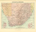 Map of Cape Colony and South Africa, The Chambers Encyclopaedia, Vol. 2, 1908