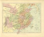 Map of China, The Chambers Encyclopaedia, Vol. 3, 1908