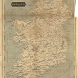 Map of Ireland, London General Gazetteer, 1825