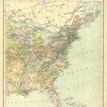 Map of the United States, Sheet 2, The Chambers Encyclopaedia, Vol. 10, 1908