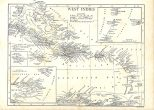 Map of the West Indies, Encyclopaedia, Vol 28, 1911