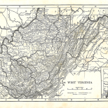 Map of West Virginia, Encyclopaedia, Vol 28, 1911.jpg