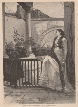 Noon in the Corredor of a Mexican Hotel, The Century, Vol. 23, 1881-2