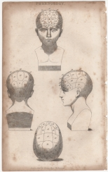 Phrenology, Portable Encyclopaedia, 1826