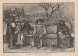 Rancheros in the Plaza at Maravatio, The Century, Vol. 23, 1881-2