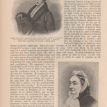Signor Giuseppe de Begins and Frances, Countess Waldegrave, The Century, Vol. 23, 1881-2