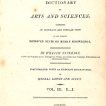 Title, British Encyclopedia, Vol 3, 1809